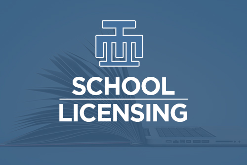 School Licensing